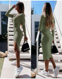 Šaty - kód 8291 - zelená