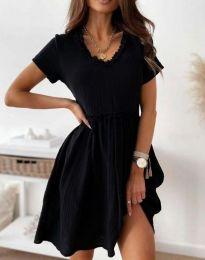 Šaty - kód 1679 - 3 - černá