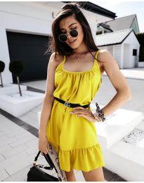 Šaty - kód 7768 - žlutá