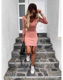 Šaty - kód 4040 - broskvová