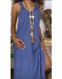 Šaty - kód 9597 - modrý