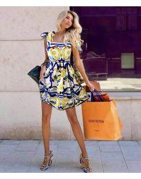 Šaty - kód 0603 - 2 - vícebarevné