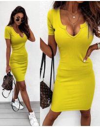 Šaty - kód 8829 - žlutá
