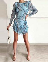 Šaty - kód 3610 - 1 - modrá