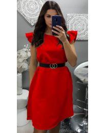 Šaty - kód 703 - červená