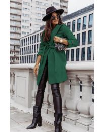 Kabát - kód 3839 - zelená