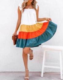 Šaty - kód 4825 - 1 - barevné