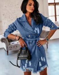 Šaty - kód 2888 - 3 - modrá