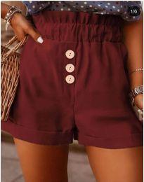 Krátké kalhoty - kód 9383 - bordeaux