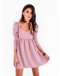 Šaty - kód 390 - pudrová