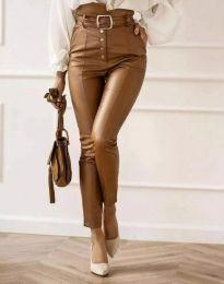 Kalhoty - kód 2782 - 3 - hnědý
