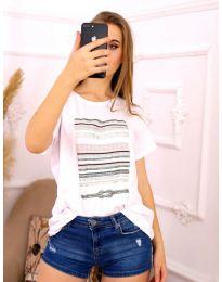 Tričko - kód 3514 - bíla