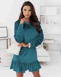 Šaty - kód 0424 - tyrkysový