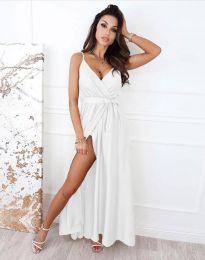 Šaty - kód 2651 - bílá