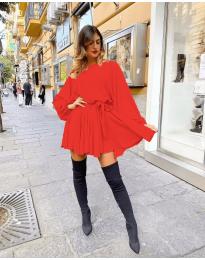 Šaty - kód 5088 - červená