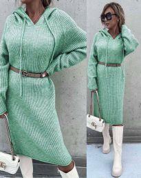 Šaty - kód 6449 - mentolová