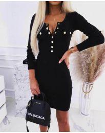 Šaty - kód 1527 - 1 - černá