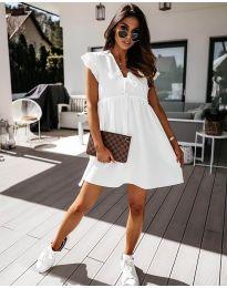 Šaty - kód 2093 - bílá