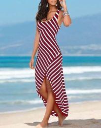 Šaty - kód 5669 - 2 - červená