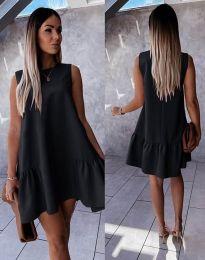 Šaty - kód 3456 - černá