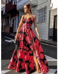 Šaty - kód 5520 - červená