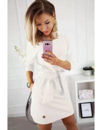 Šaty - kód 594 - bíla