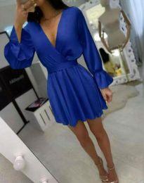 Šaty - kód 9899 - modrá