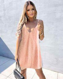 Šaty - kód 4189 - růžova