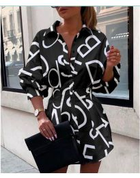 Šaty - kód 749 - černá