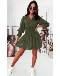 Šaty - kód 1843 - zelená