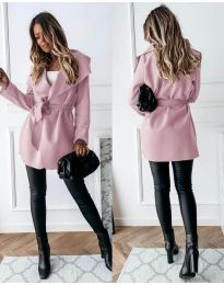 Kabát - kód 643 - růžová