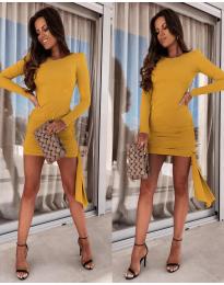 Šaty - kód 6515 - hořčičná