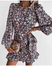 Šaty - kód 8114 - vícebarevné