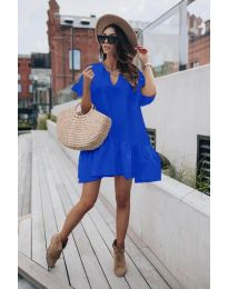 Šaty - kód 6868 - tmavě modrá