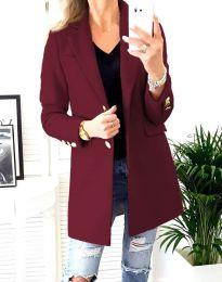 Kabát - kód 4679 - bordeaux