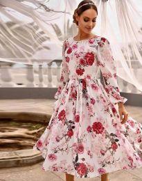 Šaty - kód 4382 - vícebarevné