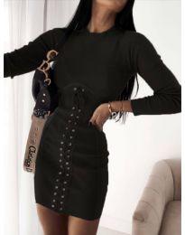 Šaty - kód 4453 - 4 - černá