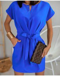 Šaty - kód 772 - modrá