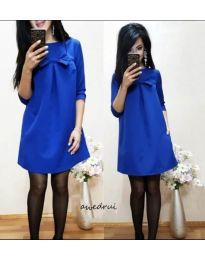 Šaty - kód 498 - modrá