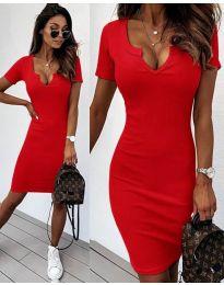 Šaty - kód 8829 - červená