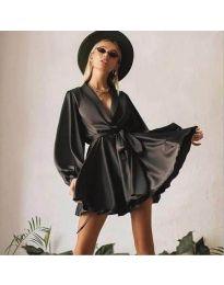Šaty - kód 2428 - černá