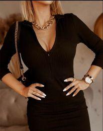 Šaty - kód 11643 - černá