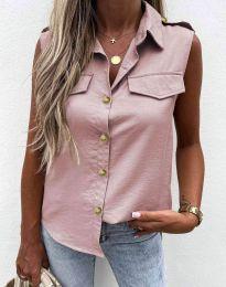 Košile - kód 6598 - pudrová
