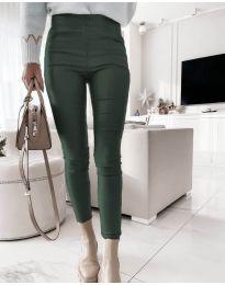 Kalhoty - kód 2788 - 3 - tmavozelenou