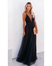 Šaty - kód 5587 - černá