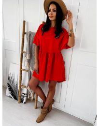 Šaty - kód 789 - červená