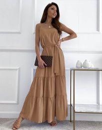 Šaty - kód 2578 - cappuccino