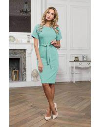 Šaty - kód 3698 - mentolová