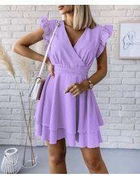 Šaty - kód 409 - fialová