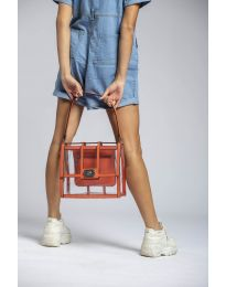 kabelka - kód LS543 - oranžová